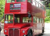 Hyra londonbuss i Skåne