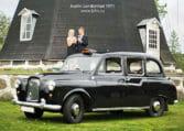 Londontaxi att hyra till bröllop i Skåne