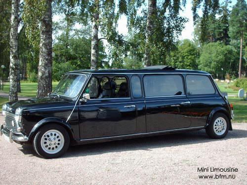 Hyra limousine till bröllop i Uppsala